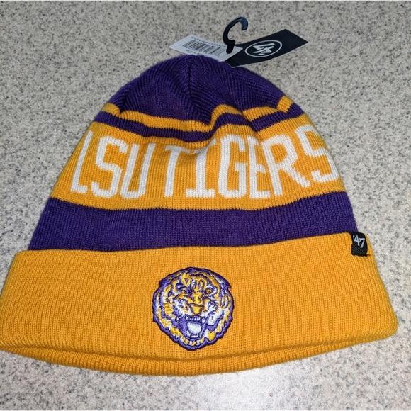 NWT NCAA LSU Breakaway Beanie Hat. NWT. 47 ff84b5e877d1